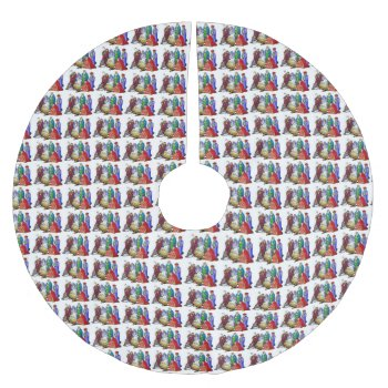 Custom Christmas Tree Skirt by creativeconceptss at Zazzle