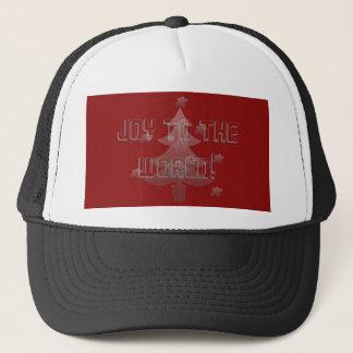 Custom Christmas Tree Stars Holiday Trucker Hat