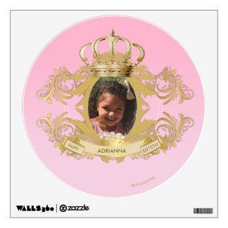 Custom Circle Wall Princess Decal