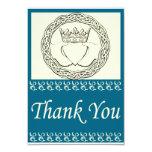 Custom Claddagh 3.5x5 Paper Invitation Card