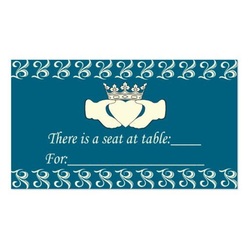 Custom Claddagh Double-Sided Standard Business Cards (Pack Of 100)