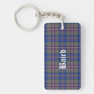 Custom Clan Baird Tartan Plaid Key Chain
