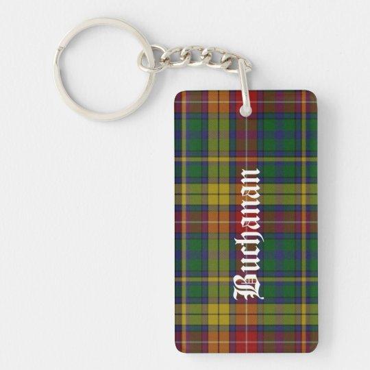 Custom Clan Buchanan Tartan Plaid Key Chain