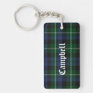 Custom Clan Campbell Tartan Plaid Key Chain