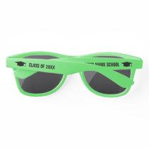 Custom class of 2020 funny graduation party sunglasses