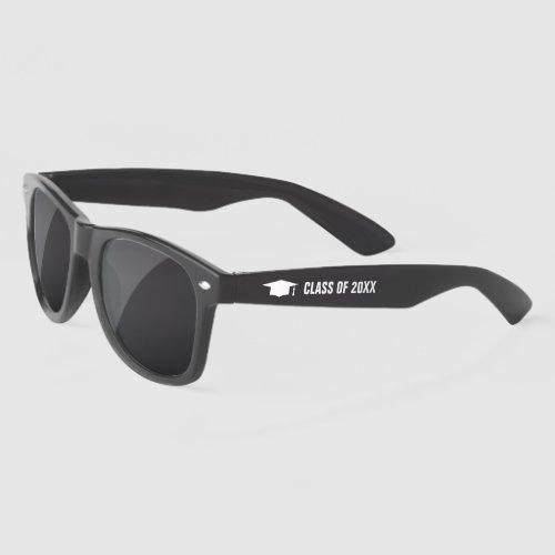 Custom class of 2021 High School graduation party Sunglasses