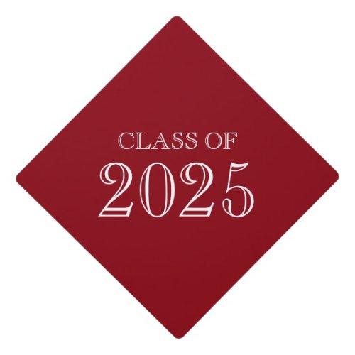 Custom Class Of 20xx Graduation Cap Tassel Topper