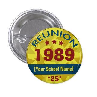 Custom Class Reunion Stars Buttons