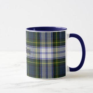 Custom Classic Gordon Dress Tartan Plaid Mug