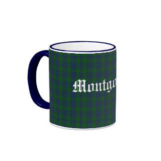 Custom Classic Montgomery Tartan Plaid Mug