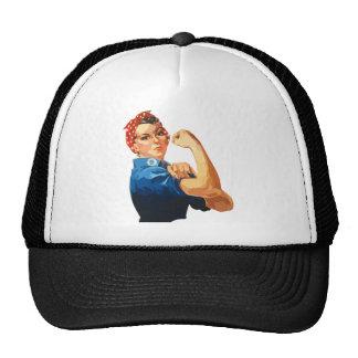 Custom Classic Rosie The Riveter Trucker Hat