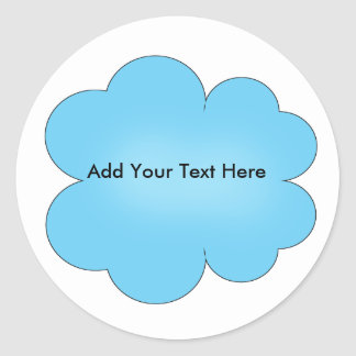 Custom Cloud Stickers