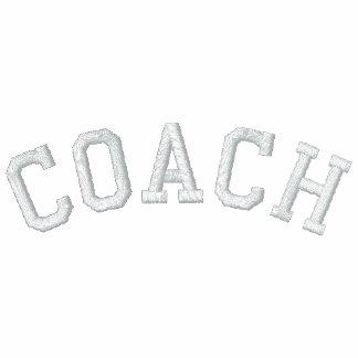 Custom Coach T-Shirt Embroidered Polo Shirt