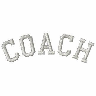 Custom Coach T-Shirt Embroidered Shirt