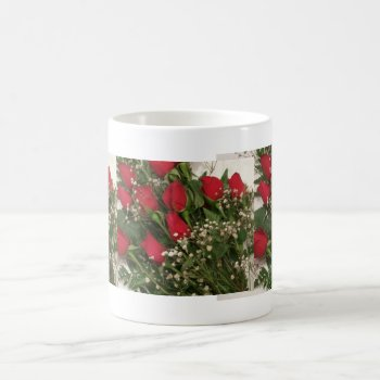 Custom Coffe Cups Dozen Roses Motif by CREATIVEforHOME at Zazzle