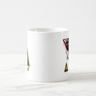 Custom coffee cup w/call sign coffee mugs