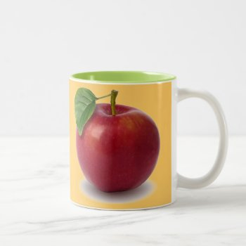 Custom Coffee Mug  Apple by creativeconceptss at Zazzle