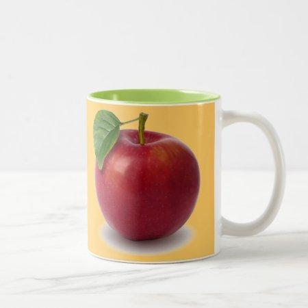 Custom Coffee Mug  Apple