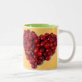 Custom Coffee Mug  Cranberries by creativeconceptss at Zazzle