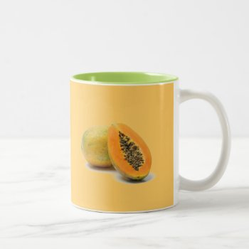 Custom Coffee Mug  Papaya by creativeconceptss at Zazzle