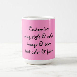 CUSTOM COFFEE MUG ~ YOU CREATE!