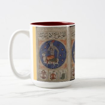 Custom Coffee Mugs--old Christmas Two-tone Coffee Mug by creativeconceptss at Zazzle