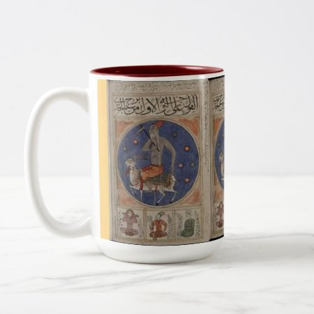 Custom Coffee Mugs--old Christmas Two-tone Coffee Mug