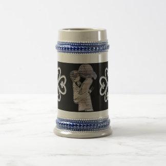 Custom coffee mugs-symbol of protection beer stein