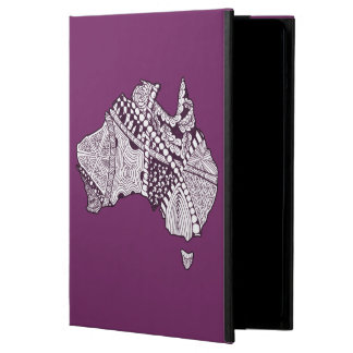 Custom Color Australia Map Art iPad Air Case