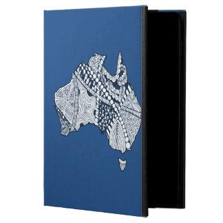 Custom Color Australia Map Art Powis iPad Air 2 Case