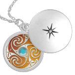 Custom Color Celtic Jewel Necklace