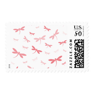 Custom Color Dragonflies - Various Shades Postage