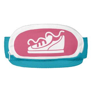 Custom color funny sneaker running beer visor