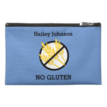Custom Color Gluten Free Kids Personalized Travel Accessory Bag