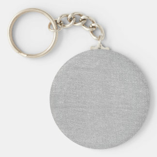 Custom Color Knit Texture Basic Round Button Keychain