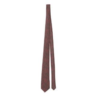 Custom Color Leaves Tie