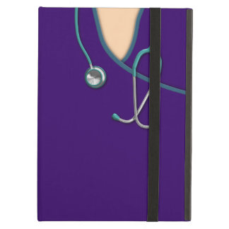 Custom Color Medical Scrubs iPad Air Cover