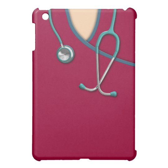 Custom Color Medical Scrubs iPad Mini Cover