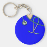 Custom Color Medical Scrubs Keychain at Zazzle