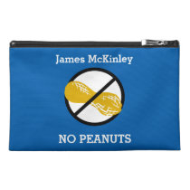 Custom Color Peanut Free Kids Personalized Travel Accessory Bag