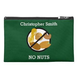 Custom Color Peanut Tree Nut Free Kids Allergy Travel Accessory Bag