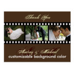 Custom Color/Photos Thank you postcards