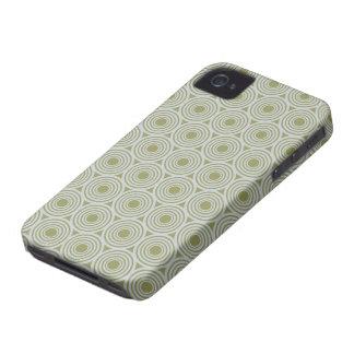 Custom Color Retro Circles Blackberry case