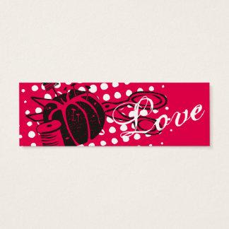 Custom color sewing notions pincushion scissors mini business card