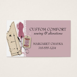 Custom color sewing pattern dress dummy gift tag