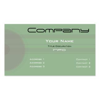 Custom Color-Simple Grey Circles n Bars Business Card Templates