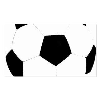 Custom Color Soccer Ball Business Card