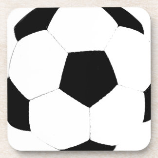 Custom Color Soccer Ball Drink Coasters