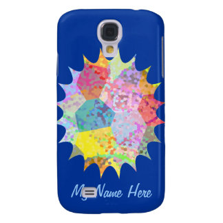 Custom Color Splash Samsung S4 Case