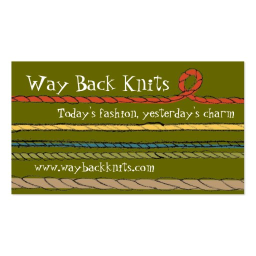Get customizable Knitting business cards or make your own from scratch! Premium cards printed on a variety of high quality paper types. Shop today! Search for products. Celebrate the newest arrival with custom birth announcements, stats pillows, name blankets & more!